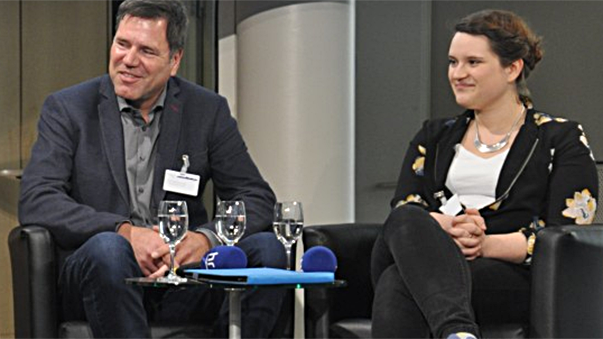 2016: Jörg Sadrozinski und Simone Stern