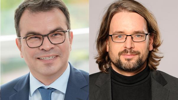 Tilo Barz und OKR Markus Bräuer